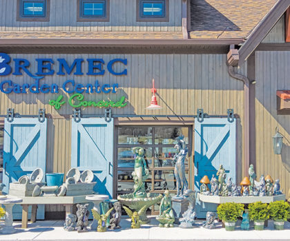 Fabulous finds await at the Garden Boutique inside Bremec Garden Center