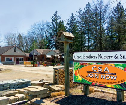 The Grace Brothers Nursery CSA program is bigger than ever before
