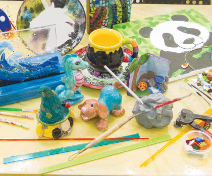 Busy Bees Pottery & Arts Studio offers a creative twist on summer camp
