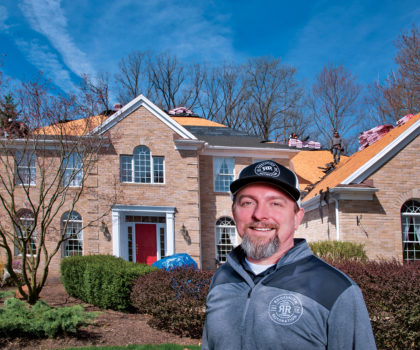 Once the winter snows melt, it's going to be a busy roofing season for Roofsmith Restoration