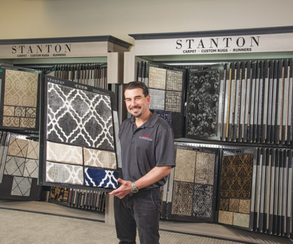 The Dover Floor & Tile Center takes a home remodeling approach to floor and tile installations
