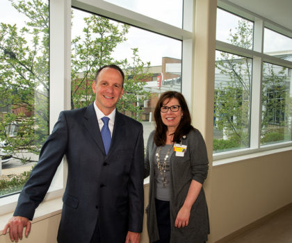 University Hospitals Geauga Medical Center has launched the area's first wellness center for people living with chronic conditions