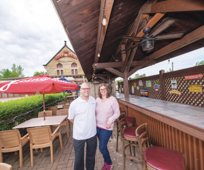 The Berea Depot Bar and Restaurant celebrates 3 years in business with a new summer menu and covered patio