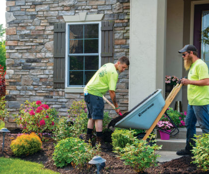 Peters  Professional Landscaping can  reinvigorate your yard