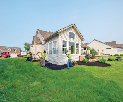 Peters Professional Landscaping offers a fantastic array of landscaping and outdoor living improvements designed to make your piece of the outdoors great