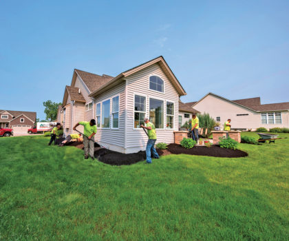 You've got a lot of outdoor living to do, let Peters Professional Landscaping do the prep