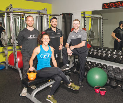 The top team of training talent at Brecksville's Fitness Together has expanded