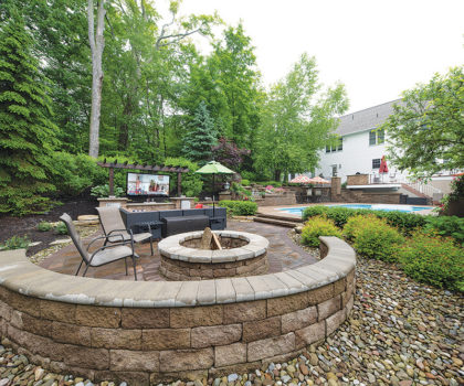 With help from McCaskey Landscape & Design, you're never going to want to leave your yard