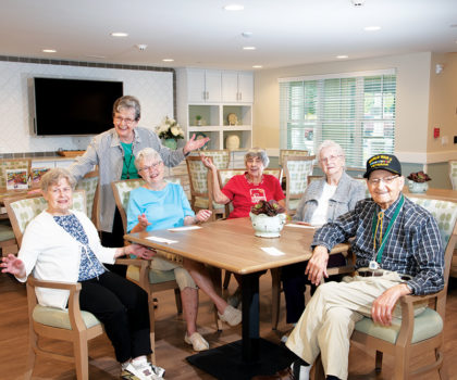 The Village of St. Edward has been embracing the aging process with care for more than 50 years