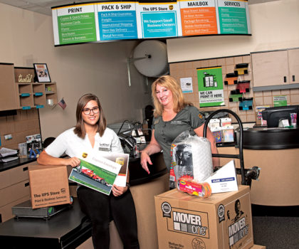 Beyond the shipping box, The UPS Store is competitively priced for printing everything from stationary to banners, posters, brochures, postcards, business cards and more