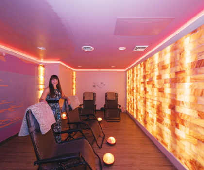 Holistic Halo Salt Spa owner Lisa Bargmann reveals the secret to this alternative treatment's success