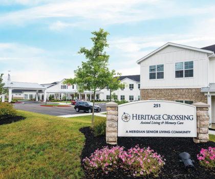The opening of the new Heritage Crossing Assisted Living & Memory Care brings a wildly successful approach to aging to the forefront