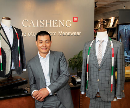 Caisheng Complete Custom Menswear offers your choices, your taste and your style at surprisingly affordable prices