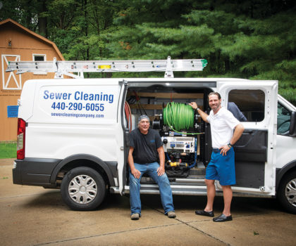 Anthony Peto's Sewer Cleaning Company keeps your pipes flowing freely, avoiding expensive and messy backups