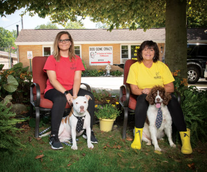 Sandra Jenkins and the staff at Dog Gone Crazy are passionate about caring for pets