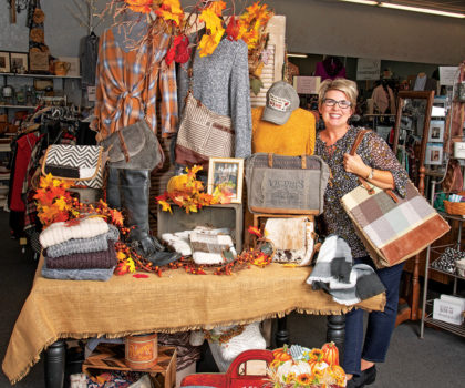 Gerri's Closet is bursting with tasty fall fashions that are as affordable as they are on trend