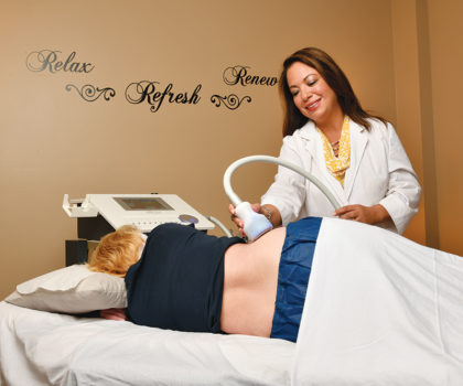 Aculaser Treatment Center offers a cool way to lose the fat