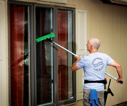 With clean windows, you can brighten your own home and bring the outside in