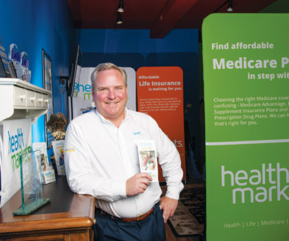 Carl Lishing of HealthMarkets can help everyone over age 65 benefit from changes in Medicare
