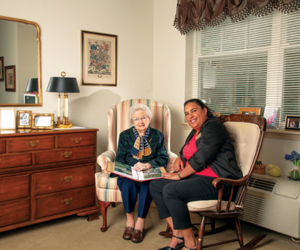 At Salida Woods Assisted Living, staff members make it their mission to simply be there for residents who need them
