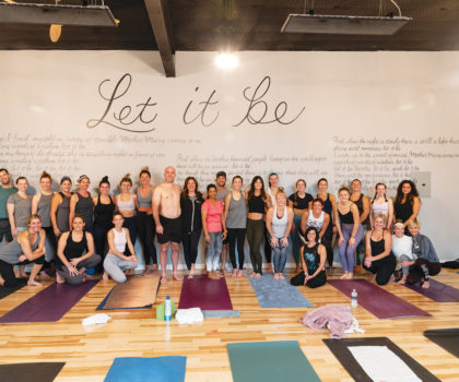 Harmony Yoga Studio offers a huge variety of classes to keep members balanced