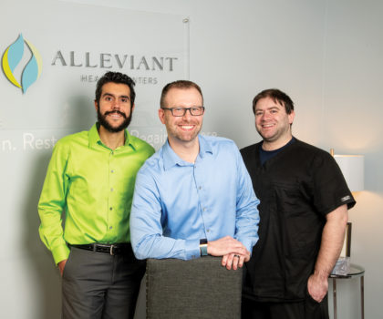 Alleviant's new model of psychiatric care includes holistic treatments that rapidly heal pain, anxiety and depression