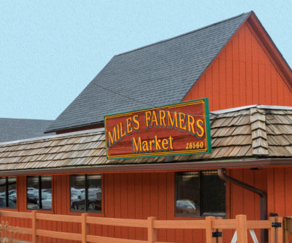 Seven days a week, Miles Farmers Market is here to serve, fully stocked with fresh options