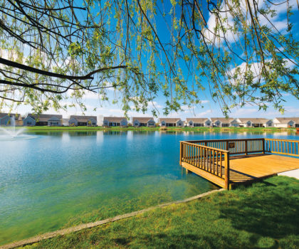 The dream of waterfront or golf course frontage living can be yours, at Mallards Edge