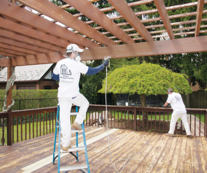 Here's how Chagrin Home Improvements uses its powers to rescue your outdoor oasis from neglect, a deck's worst enemy