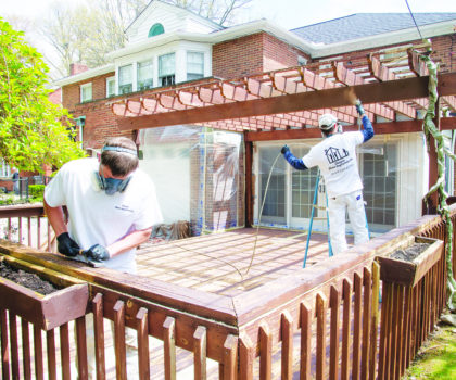 It's time to get on the schedule for the ultimate deck transformation with Chagrin Home Improvements for your thorough and professional deck cleaning and staining