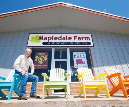 Enhance your time spent outdoors with the highest quality products and services from Mapledale Farm