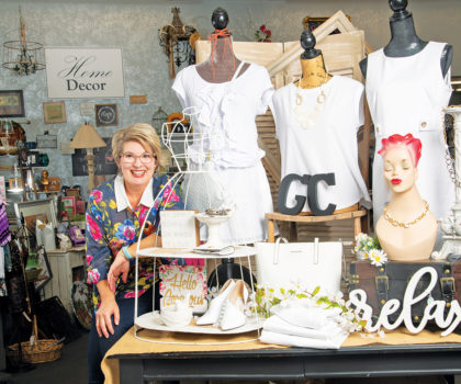 Gerri's Closet is back up and running safely, with a dynamic assortment of summer's must-have finds