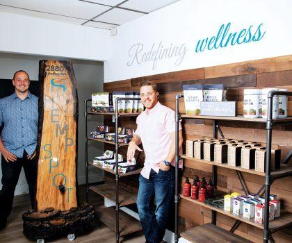 Part CBD shop, part coffeehouse, Hemp Spot offers a new way to be well