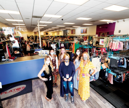 Plato's Closet has re-emerged with a fresh new look and tons of fabulous finds