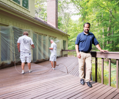 Chagrin Home Improvements can prepare your deck for the warm weather to come