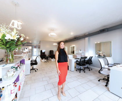 Tip Letdara's new nail salon in Fairlawn is the culmination of a mother's dream