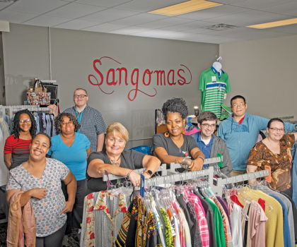 Sangomas Residential Services is helping people with developmental or other disabilities