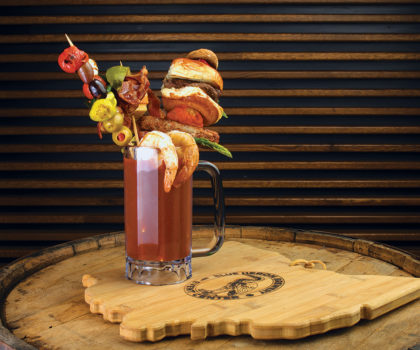 Blue Heron Brewery's new mother of all Bloody Marys pulls back the curtain on the fall season
