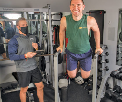 For some clients of Fitness Together in Brecksville, it's not about losing, it's about building