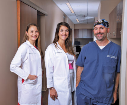 At Apex Dermatology's newest office in Mentor, this professional team takes the battle against skin cancer to an entirely new level