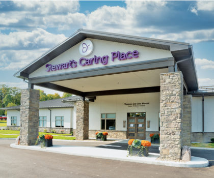 This is the new Stewart's Caring Place