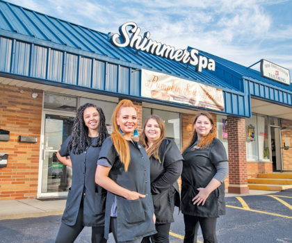 Get your glam on at Shimmer Spa
