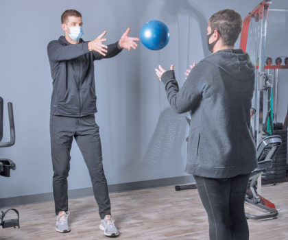 Injury prevention with physical therapy