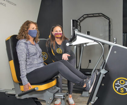 The reinvigorated OsteoStrong in Chardon now offers even more health and wellness options