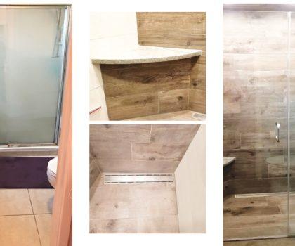 Acclaim Renovations & Design can transform any bathroom, no matter how big or small