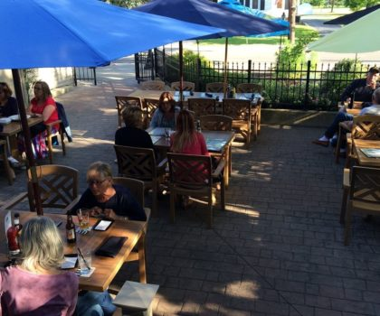 Dining outdoors in Northeast Ohio