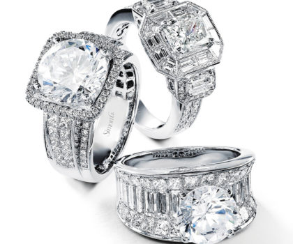 Whether you prefer a mined diamond or lab-grown diamond, Bella Design Jewelers in Bainbridge will help guide you with your selection