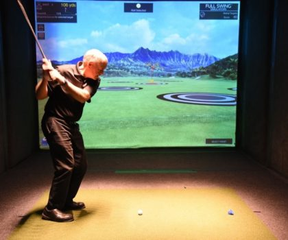 With winter golf not exactly a thing in Northeast Ohio, Bunker Hill Golf Course and Event Center's golf simulators can keep you in top playing form until the thaw