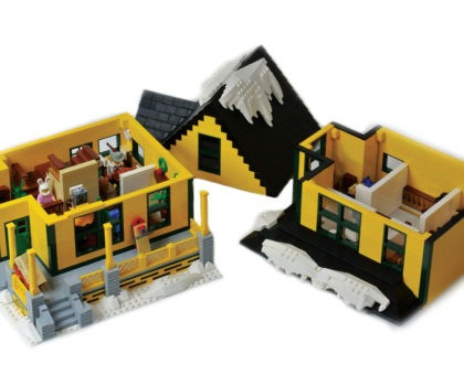 The next great  Lego idea: A Christmas Story house