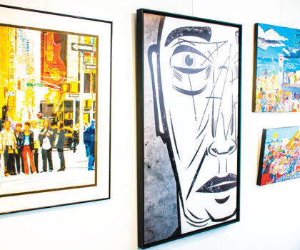 At The Art Gallery in Willoughby, an abundance of original art and more inspires